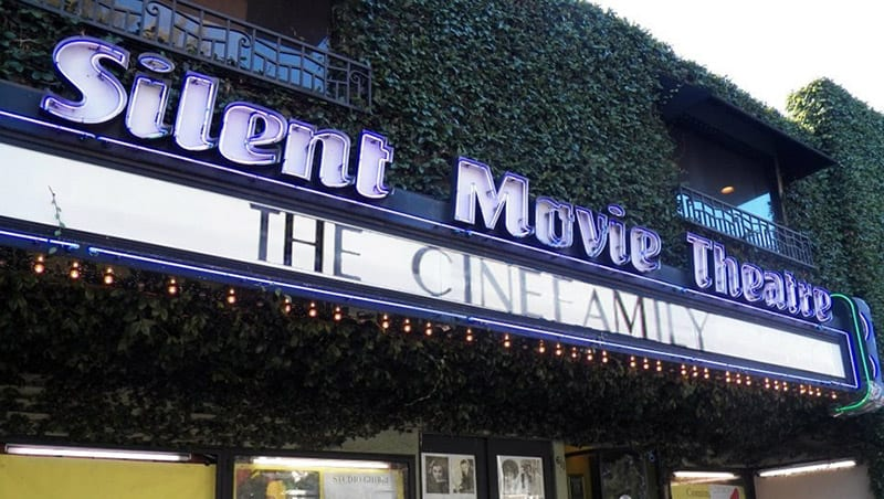 Cinefamily Silent Movie Theater