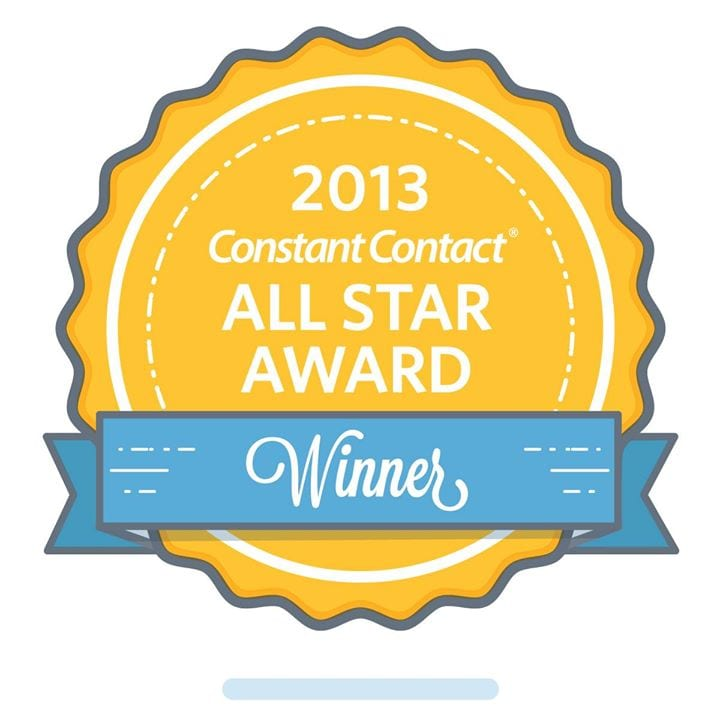 Constant Contact 2013 All Star