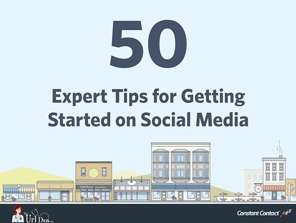 50 Expert Tips for Getting Started on Social Media eBook