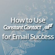 How to Use Constant Contact for Email Success