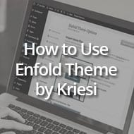 How to Use WordPress with the Enfold Theme