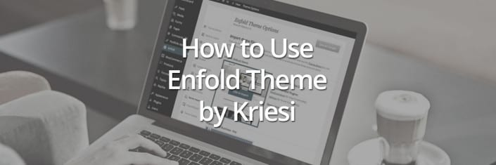 How to Use the Enfold Theme by Kriesi Online Training