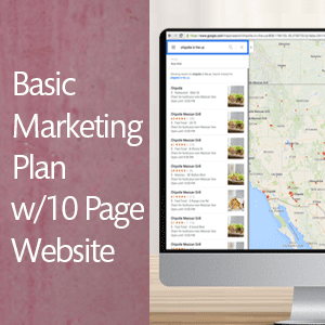 Basic Marketing w/10 Page WordPress Website