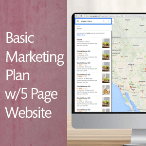 Basic Marketing w/5 Page Wordpress Website