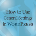 How to Use General Settings in WordPress Online Video