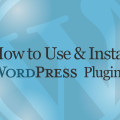 How to Use and Install WordPress Plugins Instructional Video