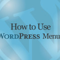 How to Use WordPress Menus Video Training