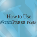 How to Use WordPress Posts