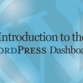 Introduction to the WordPress Dashboard Video Tutorial