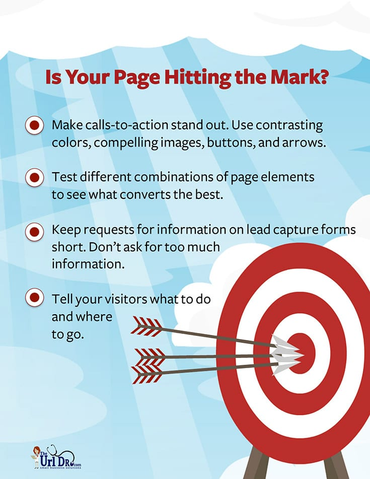 Is Your Web Page Hitting the Mark?
