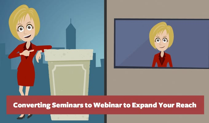 Converting Seminars to Webinars Presentation
