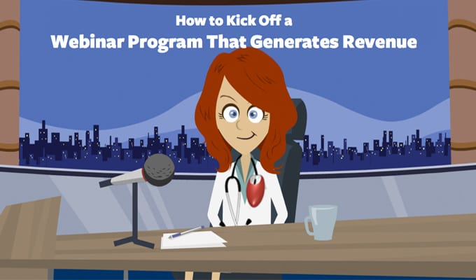 How to Kick Off a Webinar Program