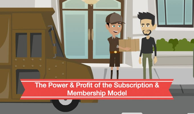 Power & Profit of Subscription Box Model Presentation