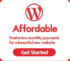 Affordable New WordPress Website