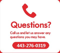Questions? Call Us.