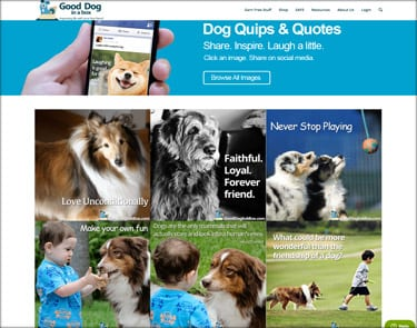 Dog Quotes Pages