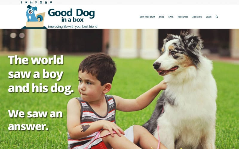 Good Dog About Us Page