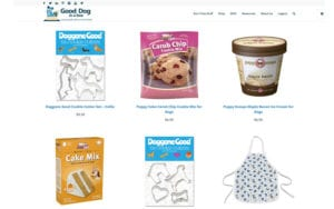 Good Dog Baking Items