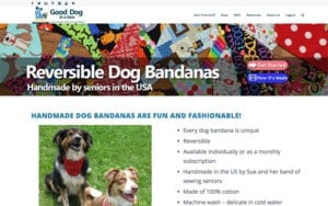 Good Dog Bandanas