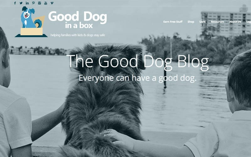 The Good Dog Blog