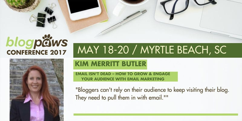 Kim Butler BlogPaws 2017