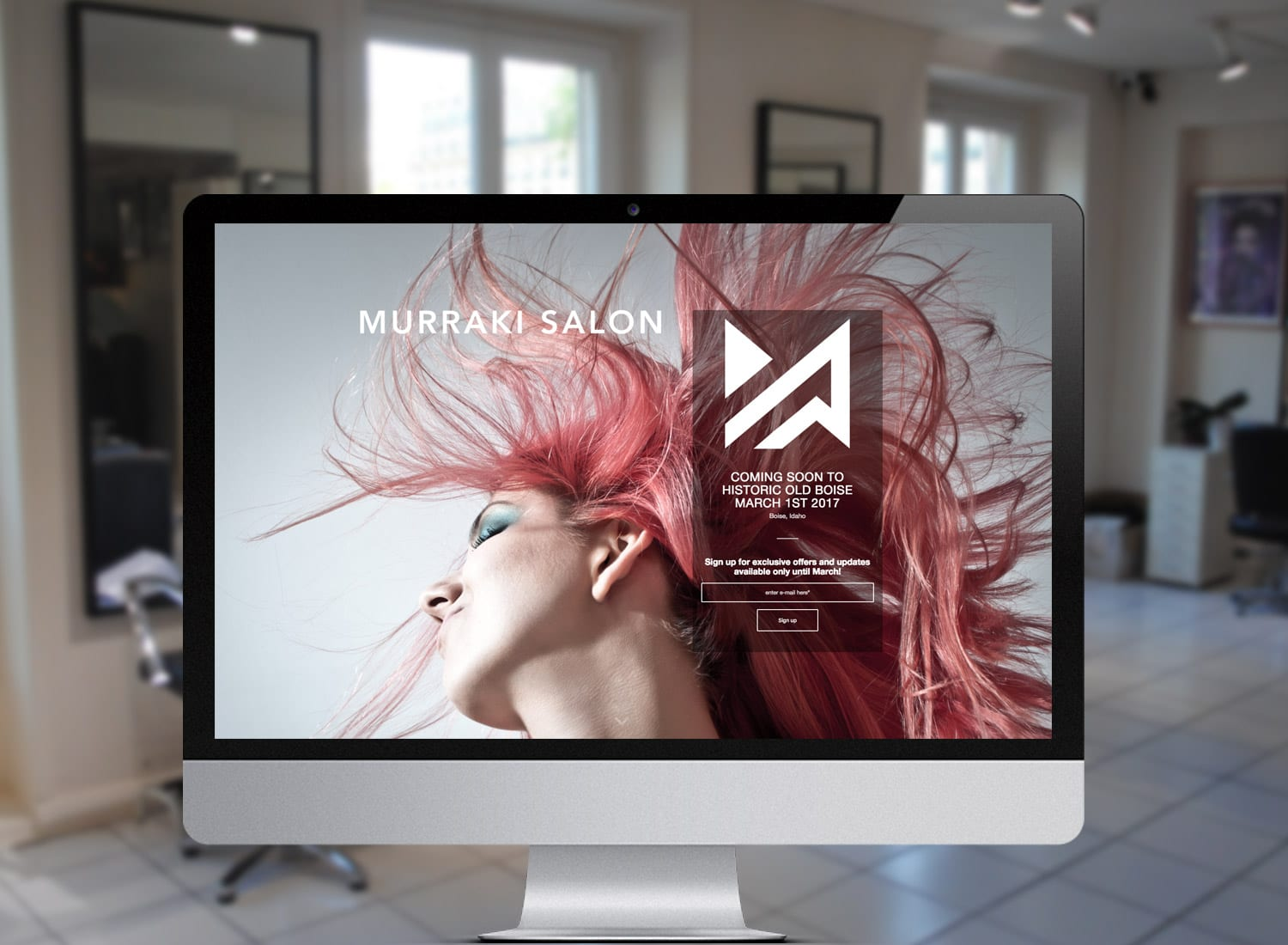 Murraki Hair Salon Website Launch