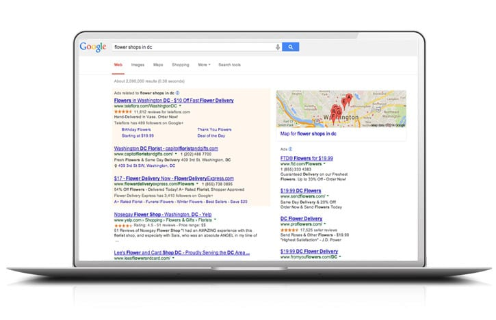 Google Adwords Pay Per Click Management Services