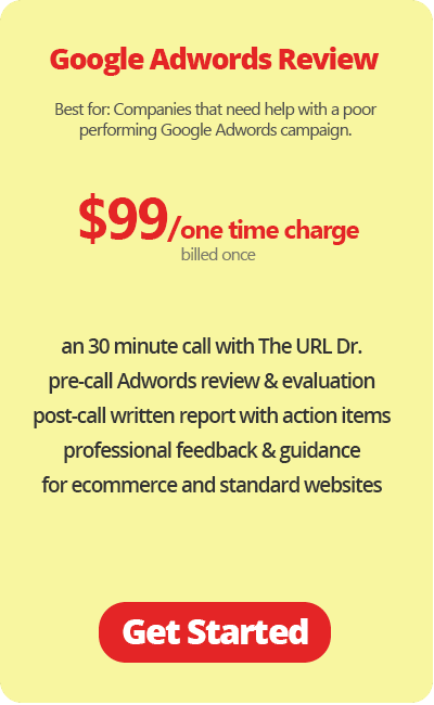 Google Adwords Review $99