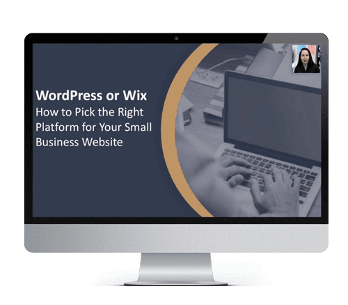 WordPress vs Wix Webinar