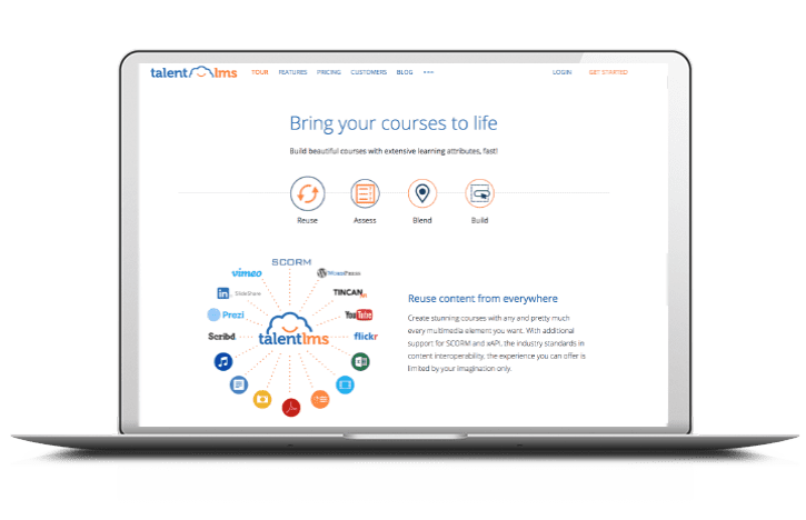 TalentLMS E-learning system