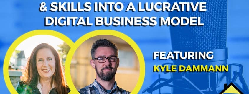 Turn Your Existing Knowledge & Skills Into a Lucrative Digital Business Model Freelance Economy Podcast